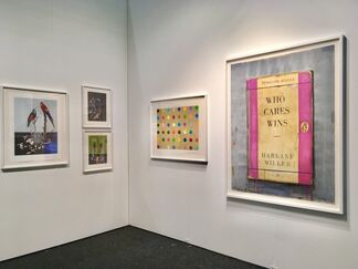 Other Criteria at Art on Paper New York 2017, installation view