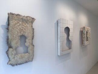 TWO ROCKS: Nobuo Sekine & Zhang Hongtu, installation view