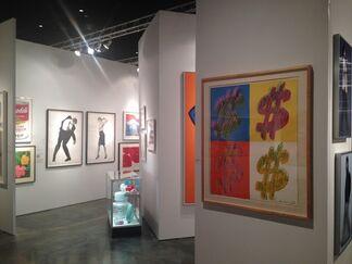 Vertu Fine Art at Art Wynwood 2015, installation view