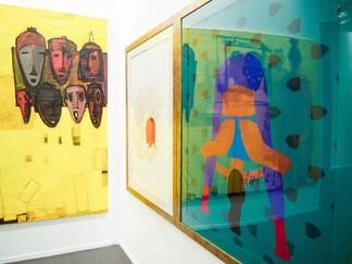 Kristin Hjellegjerde Gallery at Art Dubai 2017, installation view