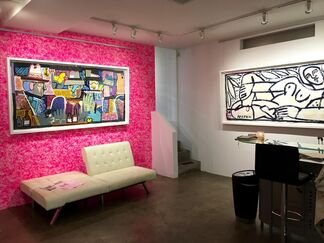 """THIS IS AMERICA"" New Works by Colombian-American Painter America Martin, installation view"