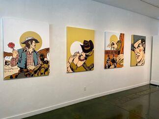 CYRUS WALKER: Boy Howdy, installation view