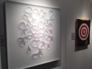 FP Contemporary at LA Art Show 2016, installation view