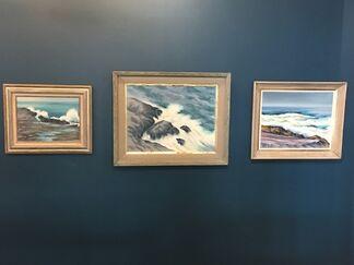 Charles De Carlo, Monhegan, Maine Seascapes, installation view