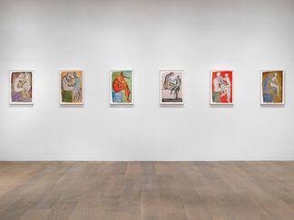 Francesco Clemente: Watercolors, installation view