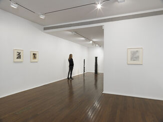 Nothing and Everything: Seven Artists, 1947 – 1962, installation view