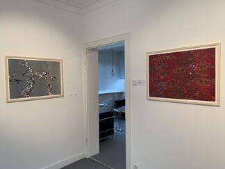 Bernd Zimmer - Wassermusik, installation view
