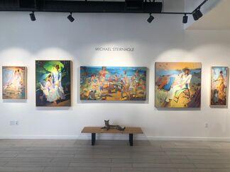Michael Steirnagle, installation view