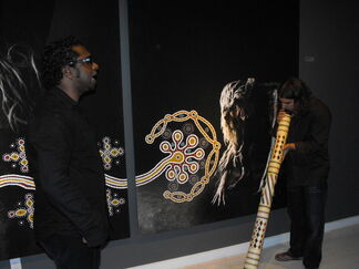 NOMAD TWO WORLDS - CLIFTON BIEUNDURRY AND RUSSELL JAMES (in collaboration with Keszler Gallery, Southampton, USA), installation view