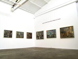 Nicolás Cuéllar: Dream Weaver / Tejedor de Sueños, installation view
