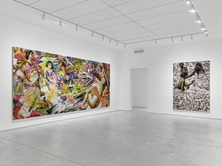 Angela Fraleigh: Our world swells like dawn, when the sun licks the water, installation view