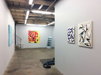 Surface of Color, installation view