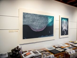 Fom Velvety Depths, installation view
