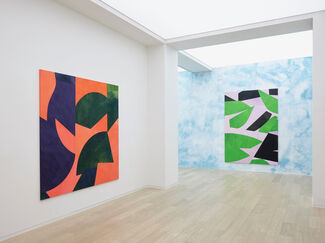 Sarah Crowner: Paintings For The Stage, installation view