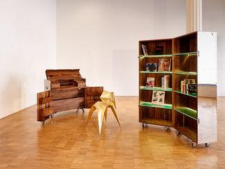 Inaugural Exhibition Featuring Naihan Li and Zhoujie Zhang, installation view
