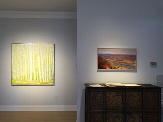 WOLF KAHN: paintings and pastels, installation view