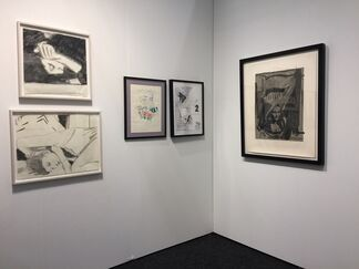 ACA Galleries at Art on Paper New York 2017, installation view