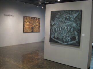 Therianthropy - Kurt Lluch solo show, installation view