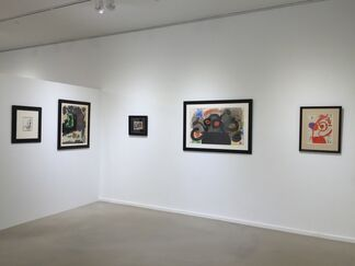 The Great Masters of the 20th Century, an Exhibition of Works by Alexander Calder, Marc Chagall, Joan Miró and Pablo Picasso., installation view