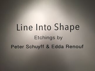 Line Into Shape, installation view