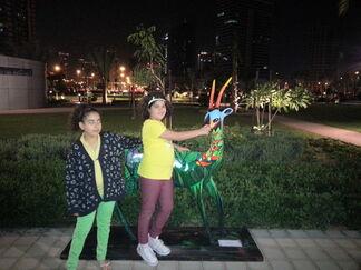 Dhabi 2014_Art Hub, installation view