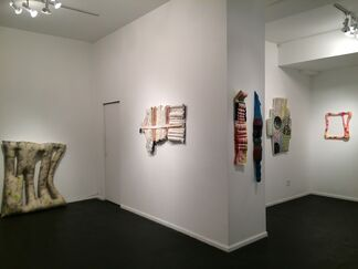 """Meg Lipke - """"Pliable Channels"""", installation view"""