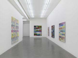 Mel Bochner: Going Out Of Business! (and other recent paintings on velvet), installation view