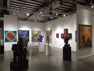 Ascaso Gallery at Art Silicon Valley 2015, installation view