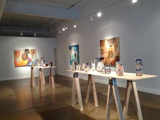 """Kevin Snipes """"Pop Up"""", installation view"""