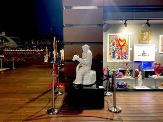 Mr.Brainwash: Sculptures Garden in Porto Cervo, installation view