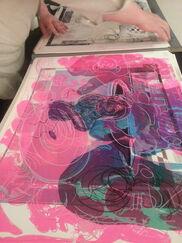 Diane Villani Editions at IFPDA Print Fair, installation view