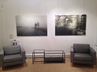 I have come along with the wind, installation view