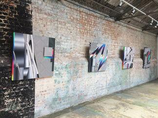 Felipe Pantone 'Data Somersault', installation view