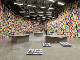 Ugo Rondinone: I Love John Giorno, installation view