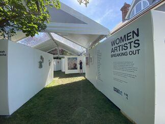 Art in the Yard: Women Artists Breaking Out, installation view