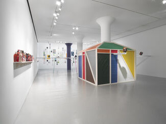 Pope.L: Colored Waiting Room, installation view