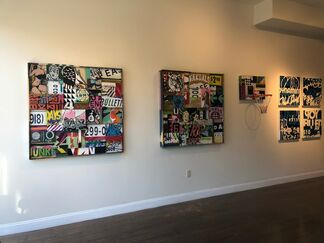 """Wish I Might"", installation view"