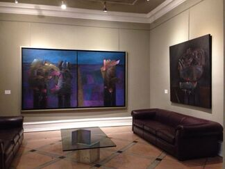 "Fernando de Szyszlo "" Una America Llamada Szyszlo"", installation view"