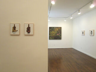 Recent Works by Diana Kingsley, Robert Morris, Richard Pettibone, Keith Sonnier, & Mike and Doug Starn, installation view