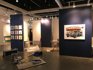 Rehs Contemporary Galleries at LA Art Show 2016, installation view