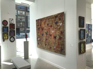 Hunt Slonem, installation view