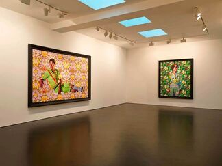 Kehinde Wiley 'The World Stage- Jamaica', installation view