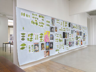 6 or 7 new works, installation view