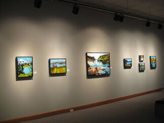 Christine Sharp: Views from the Byways, installation view
