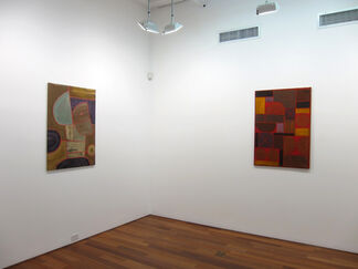 Unsettled in Blue, installation view
