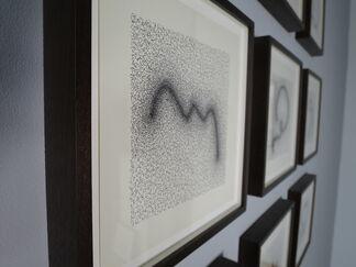 Mahmoud Hamadani Fugues, installation view