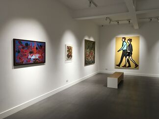 A Selection of Paintings from the XX and XXI Century, installation view
