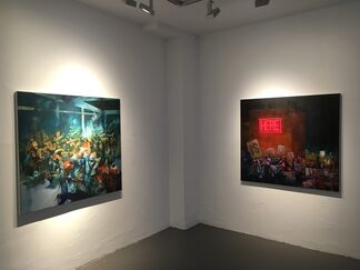 SEPE - Selfie in the Circus, installation view