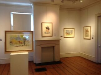 """""""Grace de Coeur..."""" Watercolors by Josephine Nivison Hopper from the Sanborn Collection, installation view"""