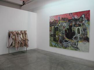 Philip Mueller-My Father was Many and I am Happy as a Sailor- part I, installation view
